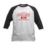 Super Geek University Kids Baseball Jersey