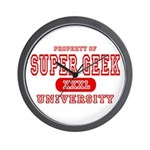 Super Geek University Wall Clock