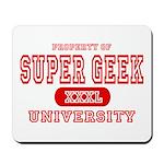 Super Geek University Mousepad