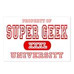 Super Geek University Postcards (Package of 8)