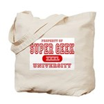 Super Geek University Tote Bag