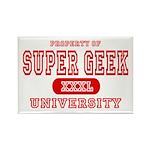 Super Geek University Rectangle Magnet (10 pack)