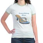 Something Blue Jr. Ringer T-Shirt