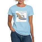Something Blue Women's Pink T-Shirt