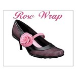 Rose Wrap Small Poster