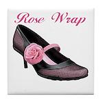 Rose Wrap Tile Coaster