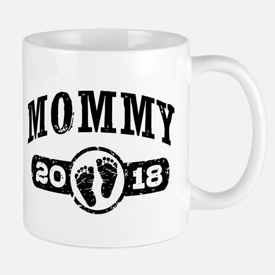 Mommy 2018 Small Mug