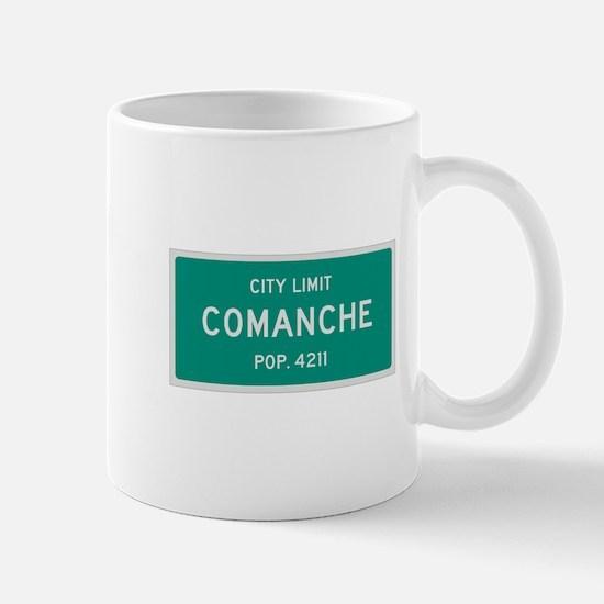 Comanche, Texas City Limits Mug
