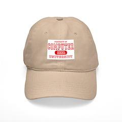 Computer University Baseball Cap