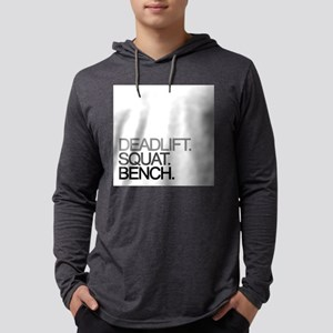Deadlift Squat Bench Mens Hooded Shirt