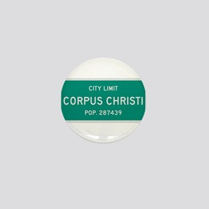 Corpus Christi, Texas City Limits Mini Button