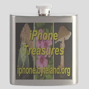 iPhone Treasures Flask