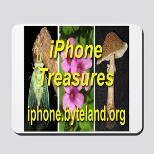 iPhone Treasures Mousepad