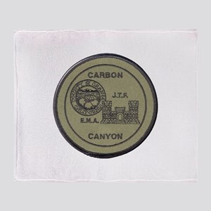 Carbon Canyon Joint Task Force Throw Blanket