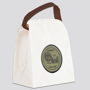 Carbon Canyon Joint Task Force Canvas Lunch Bag