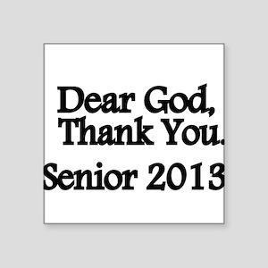 Dear God, Thank you Sticker