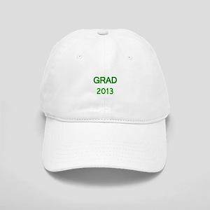 GRAD 2013-green Baseball Cap