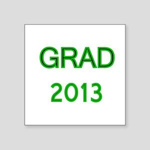 GRAD 2013-green Sticker