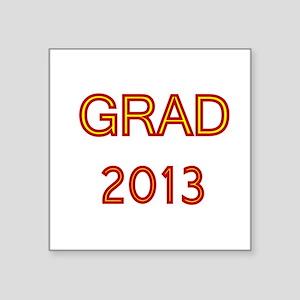 GRAD 2013-marron-gold Sticker