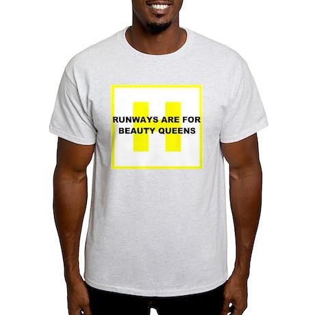 Runways Beauty Queens Ash Grey T-Shirt