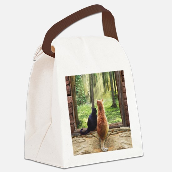 Doorway into Forever Canvas Lunch Bag