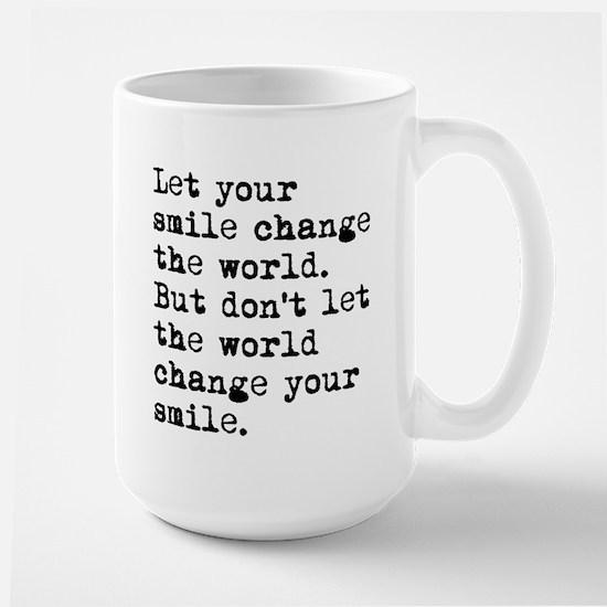 Smile Change The World Mug