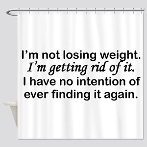 Getting Rid Of Weight Shower Curtain