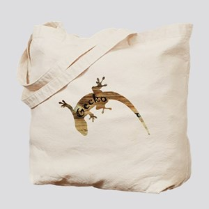 Wooden Gecko Tote Bag