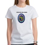 United States Africa Command with Text Women's T-S