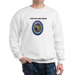 United States Africa Command with Text Sweatshirt