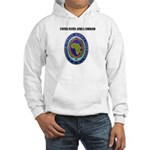 United States Africa Command with Text Hooded Swea