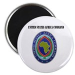 United States Africa Command with Text Magnet