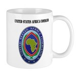 United States Africa Command with Text Mug