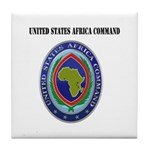 United States Africa Command with Text Tile Coaste