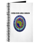 United States Africa Command with Text Journal