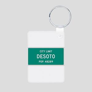 DeSoto, Texas City Limits Keychains