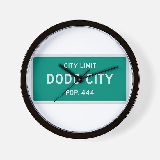 Dodd City, Texas City Limits Wall Clock