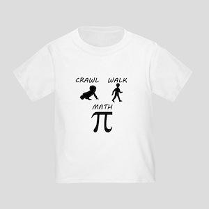 Crawl Walk Math T-Shirt