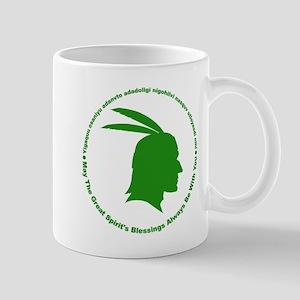 Great Spirits Blessings Green Mug