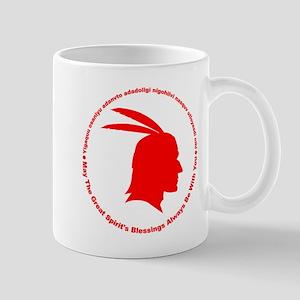 Great Spirits Blessings Red Mug