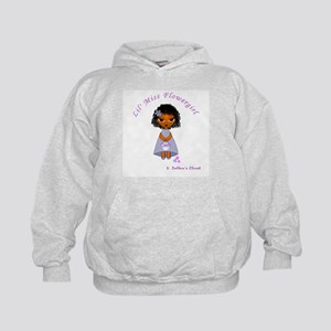 Lil' Miss Flowergirl African-American Kids Hoodie