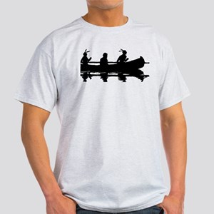 Native Americans In Canoe T-Shirt