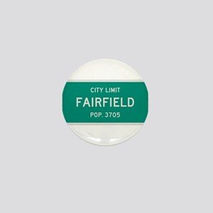 Fairfield, Texas City Limits Mini Button