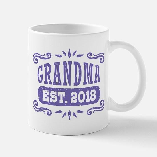 Grandma Est. 2018 Mug