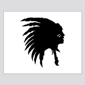 Indian Headdress Outline Posters