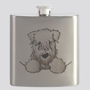 SC Wheaten Pocket Flask