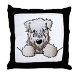 Wheaten terrier Cotton Pillows