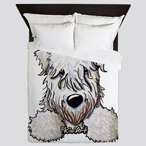 SC Wheaten Pocket Queen Duvet
