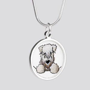 SC Wheaten Pocket Silver Round Necklace