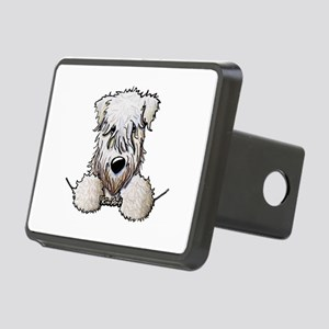 SC Wheaten Pocket Rectangular Hitch Cover